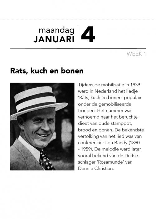 Veteranenscheurkalender 4 januari