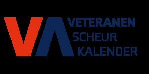 Veteranenscheurkalender rood-blauw